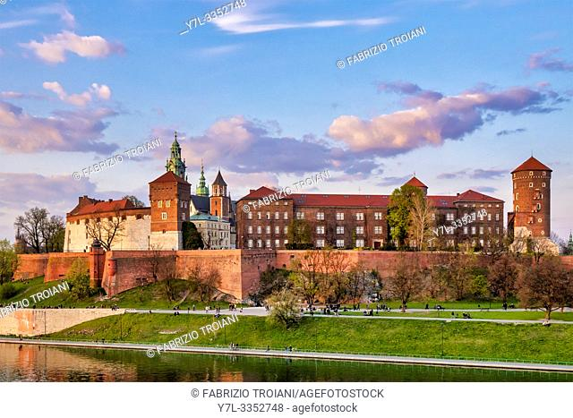 Wavel Castle, Krakow, Poland