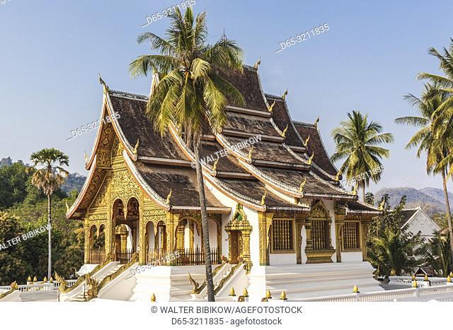 Laos, Luang Prabang, Wat Ho Pha Bang, Royal Palace area