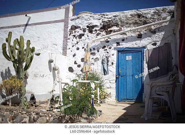 El Jablito village in Fuerteventura Canary islands Spain