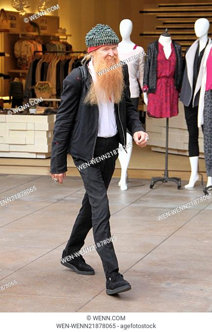 ZZ Top's Billy Gibbons goes shopping at The Grove in Hollywood Featuring: Billy Gibbons Where: Los Angeles, California, United States When: 30 Oct 2014 Credit:...