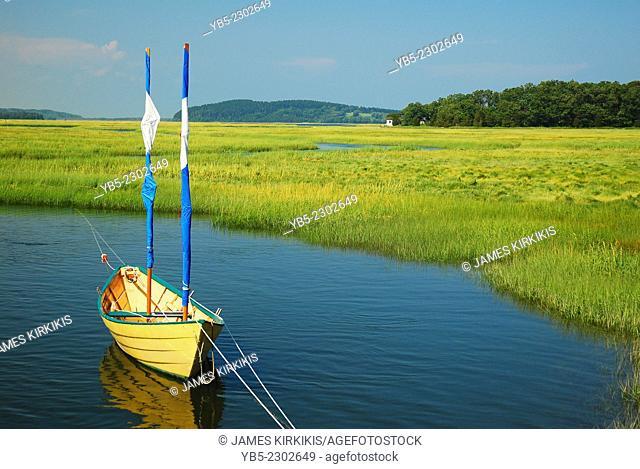 Salt marsh, Massachusetts