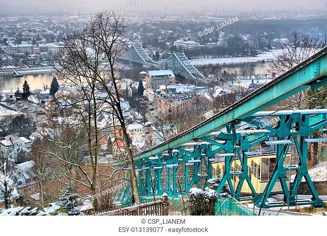 Dresden Blue Wonder night
