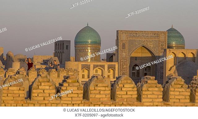 Mir-i-Arab medressa, from Ark, Bukhara, Uzbekistan
