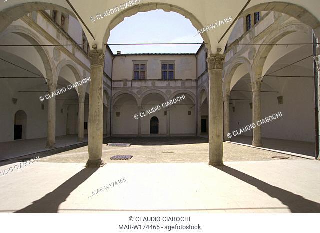 europe, italy, marche, camerino, palazzo ducale