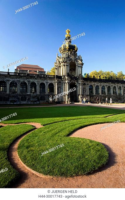 Germany, Saxony, Dresden, Zwinger, Elbflorenz