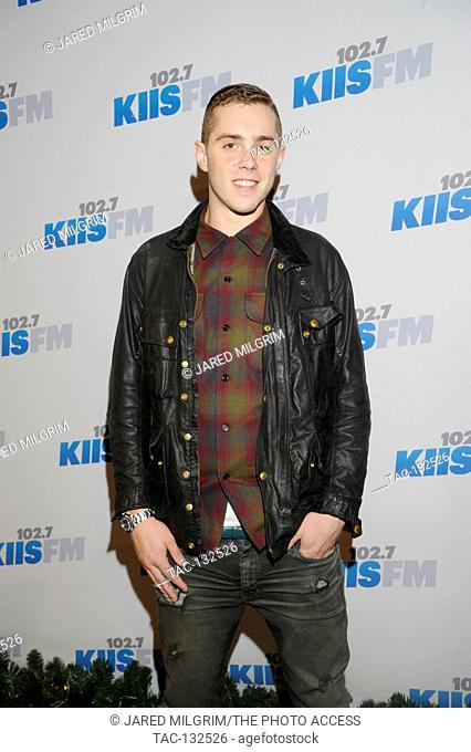 Sammy Adams attends KIIS FM's 2012 Jingle Ball at Nokia Theatre L.A. Live on December 1, 2012 in Los Angeles, California