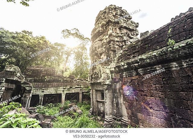 Preah Khan temple, Angkor Complex (Siem Reap Province, Cambodia)