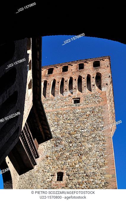 Vignola (Modena, Italy): a tower of the Castle