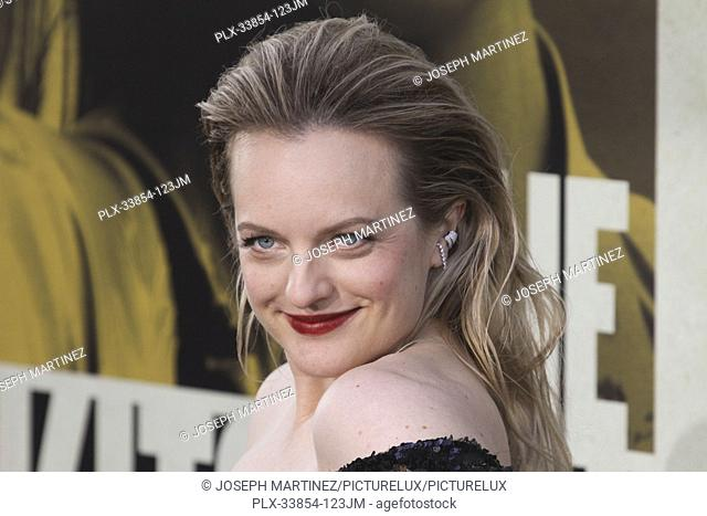 "Elisabeth Moss at Warner Bros. Pictures' """"The Kitchen"""" Premiere held at the TCL Chinese Theatre, Los Angeles, CA, August 5, 2019"