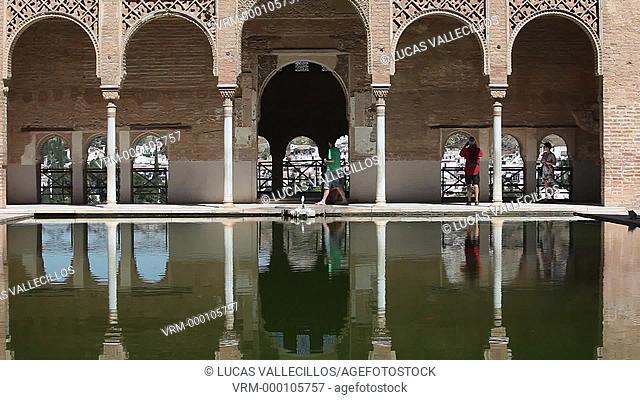 Partal, Alhambra, Granada, Andalucia, Spain
