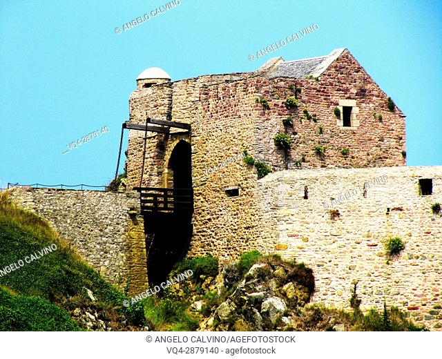 Fort la Latte, Brittany, Côtes-d'Armor, Cape Frehel, Plevenon, French Brittany, France.