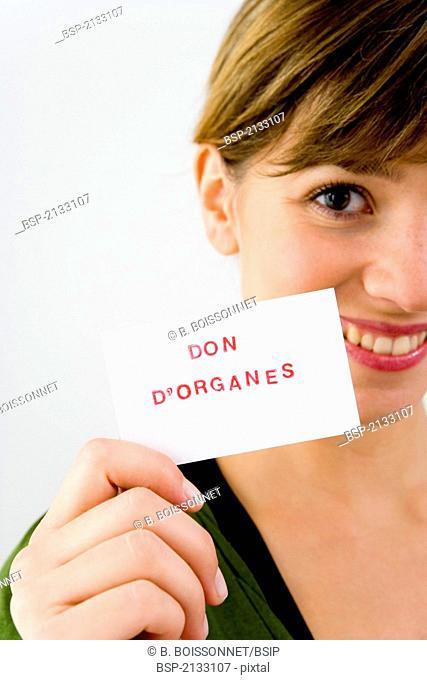 ORGAN DONATION Model