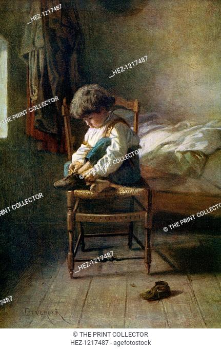 'Alone', 19th century, (1912). A colour print from Famous Paintings with an introduction by Gilbert Chesterton, (Cassell and Company, London, New York, Toronto