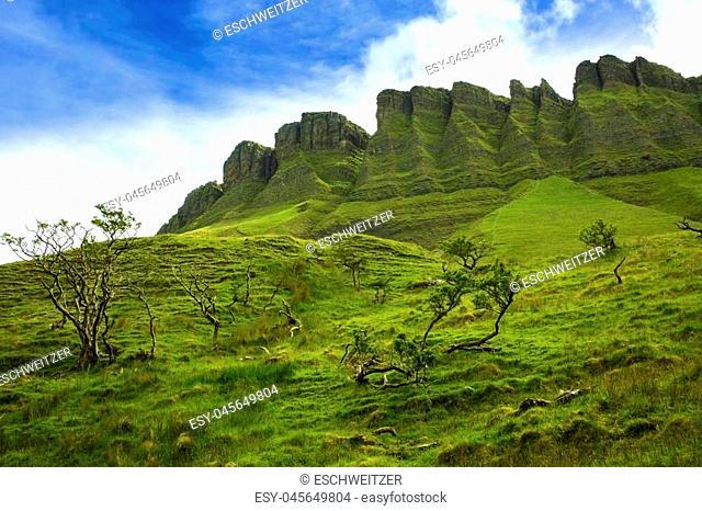 Ben Bulben rock formation in County Sligo, Ireland