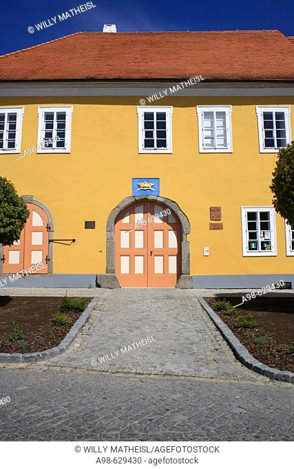 Village of Tyne nad Vltava, District of Budweis. Czech Republic, Europe