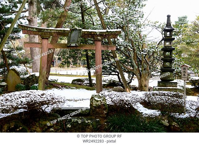 Spot Kenrokuen Garden Japan