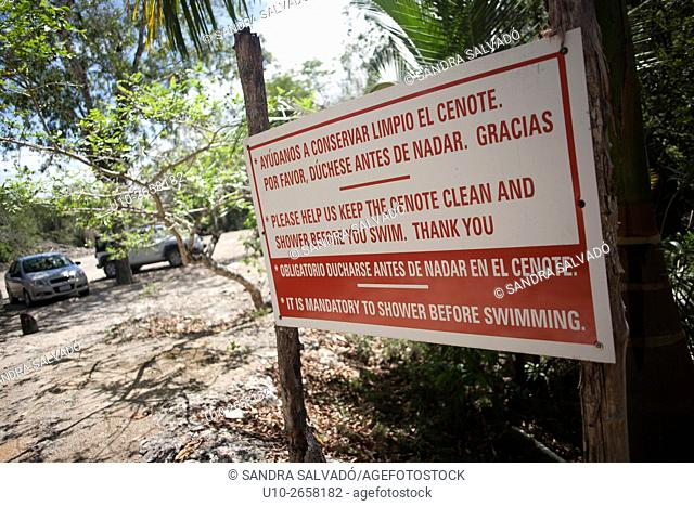 Cenote Mutul-há, Quintana Roo, Mèxico
