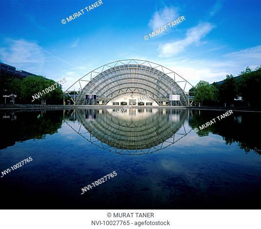 Congress Center, Leipzig Trade Fair, Leipzig, Saxony, Germany