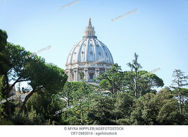 St. Peter's Basilica, Vatican City, Rome, Italy