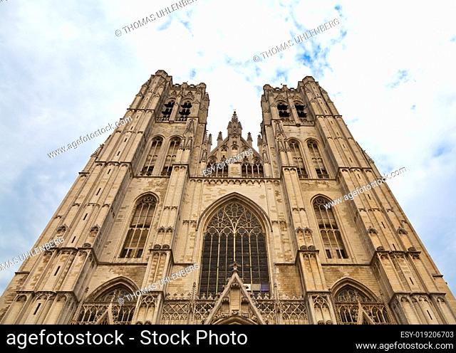 Kathedrale St. Michael und St. Gudula in Brüssel, Belgien