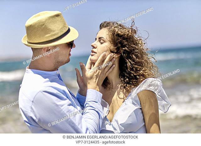 lovers at beach, holiday, summer, fling