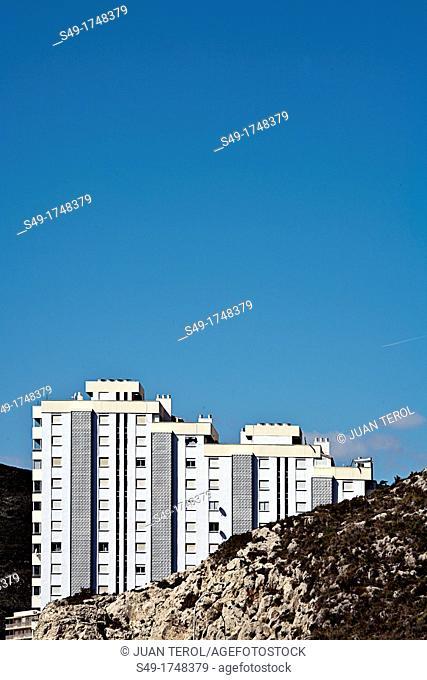 Apartments building  Cullera, Valencia province, Comunidad Valenciana, Spain