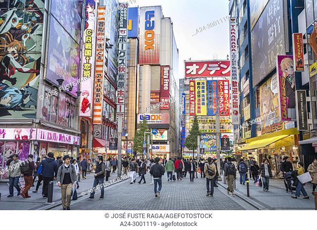 Japan , Tokyo City, Akihabara District, Akihabara elctric town