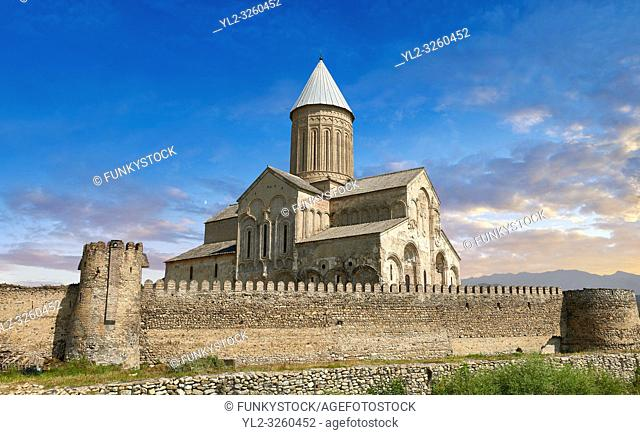 Pictures & images of the medieval Alaverdi St George Cathedral & monastery complex, 11th century, near Telavi, Georgia (country)
