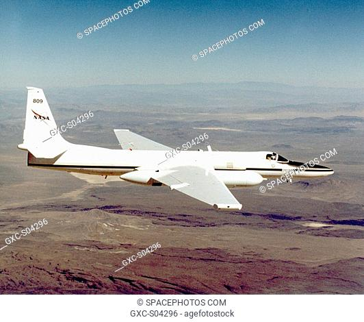 ER-2 tail number 809, is one of two Airborne Science ER-2s used as science platforms by Dryden. The aircraft are platforms for a variety of high-altitude...