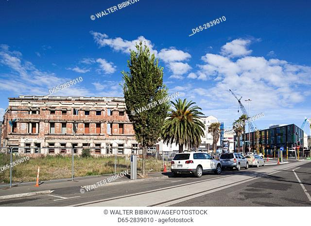 New Zealand, South Island, Christchurch, post-2011 earthquake rebuilding