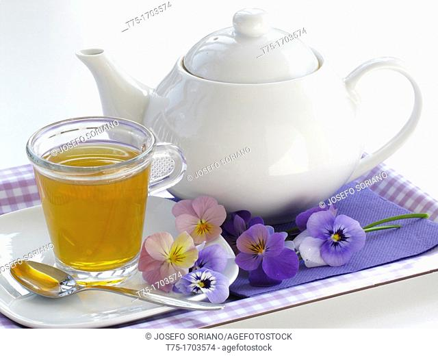 infusion of flowers