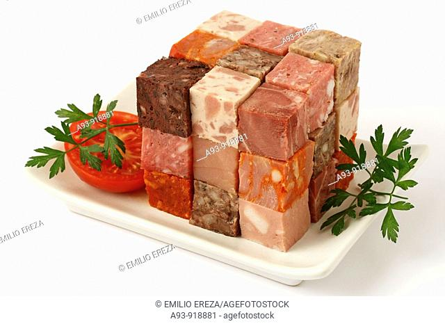 Sausages cube
