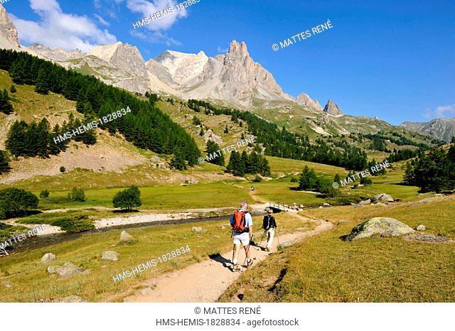 France, Hautes Alpes, Brianconnais area, Valley of La Claree