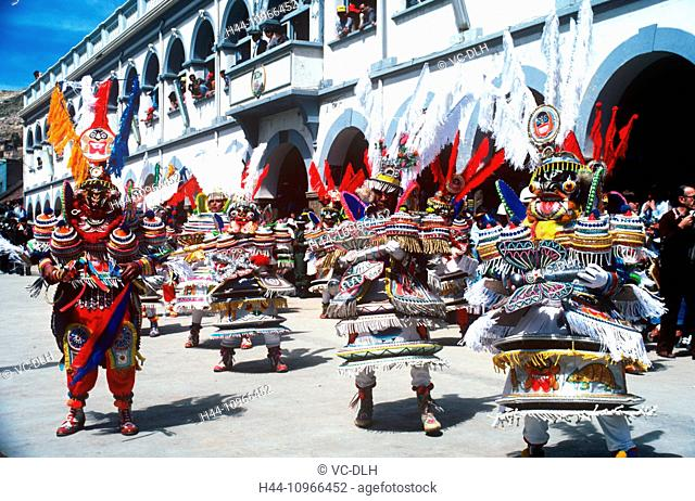 Mardi Gras, Oruro, Bolivia