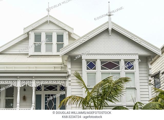 Older home in the Ponsonby area of Auckland, New Zealand