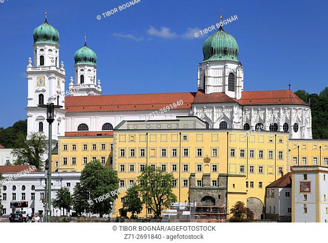 Germany, Bavaria, Passau, Dom St Stephan, Cathedral,
