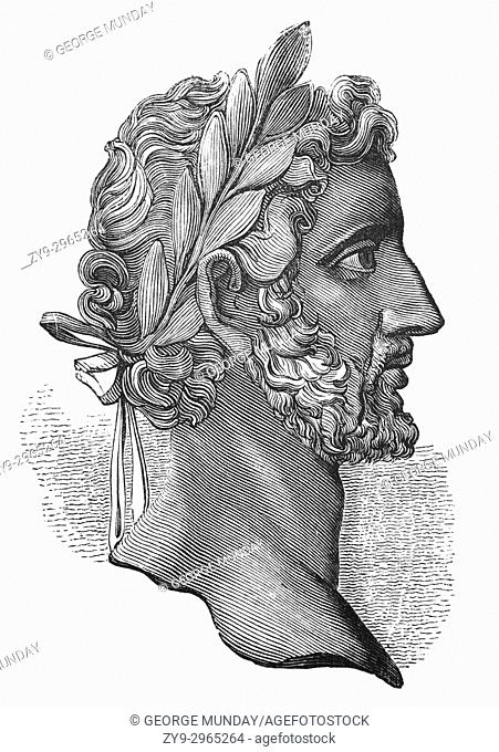 "Antoninus Pius (86 â. ""161), also known as Antoninus, was Roman emperor from 138 to 161. His adoptive father was the emperor Hadrian"