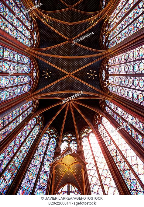 Sainte Chapelle. Paris. France
