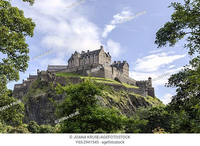 Edinburgh Castle, Lothian, Scotland, United Kingdom