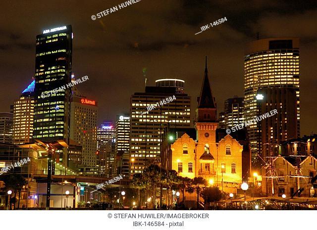 Skyline of Sydney, New South Wales, Australia