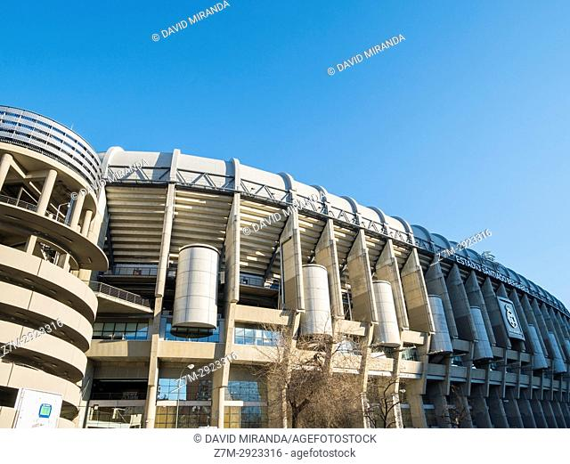 Santiago Bernabéu stadium. Madrid, Spain