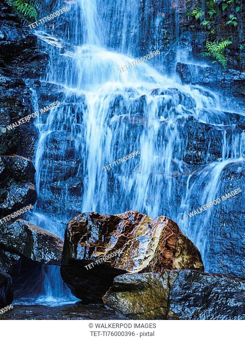 Australia, New South Wales, Waterfall called Wentworth Falls