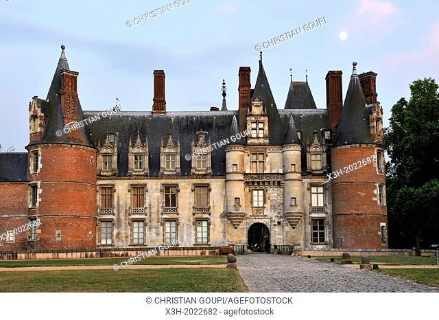 Chateau de Maintenon, Eure & Loir department, region Centre, France, Europe
