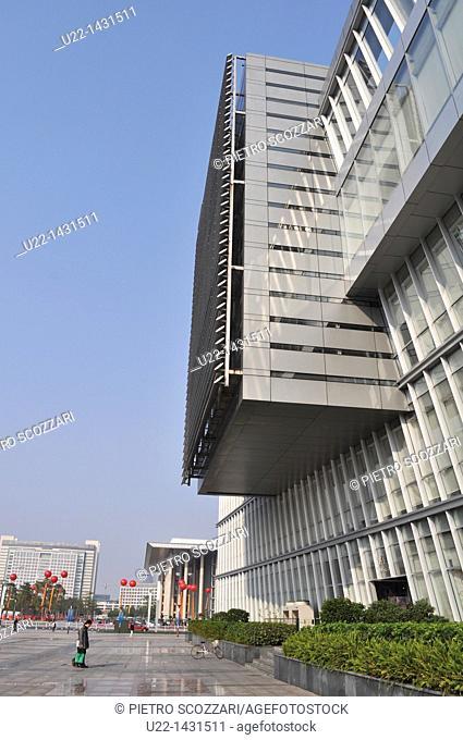Dongguan (China): the Dongguan Library, in the Nancheng District