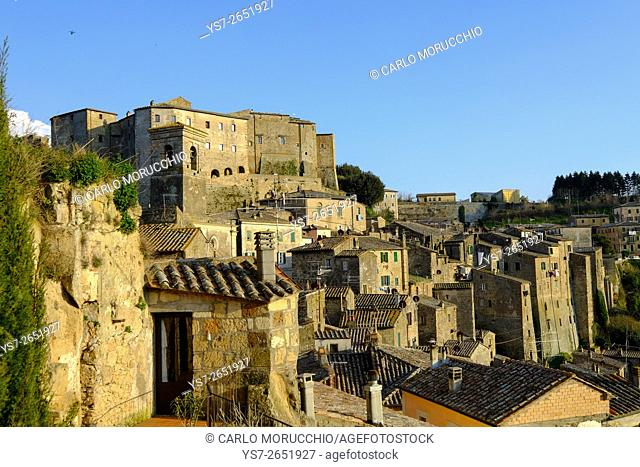 Sorano, Maremma, Grosseto, Tuscany, Italy