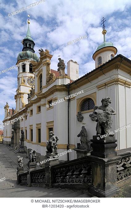 Loreta, Loreto sanctuary, Prague, Czech Republic, Europe