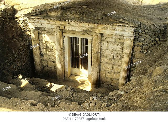 Greece - Central Macedonia - Vergina. (Unesco World Heritage Site, 1996). Royal Tombs