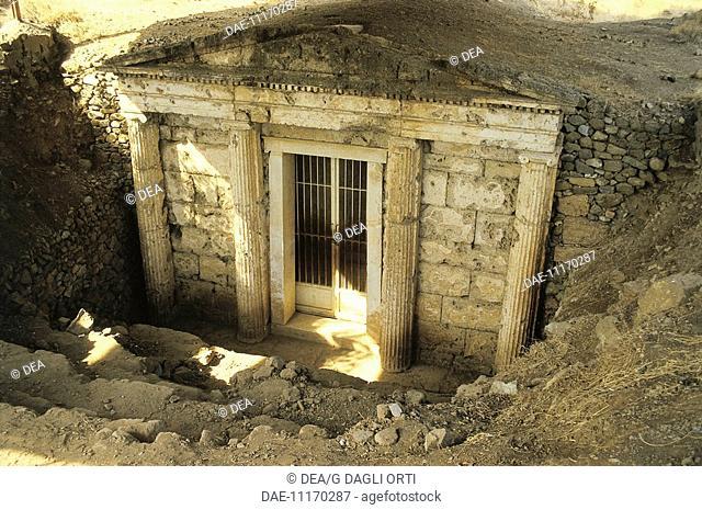 Greece - Central Macedonia - Vergina. (Unesco World Heritage Site, 1996). Royal Tombs