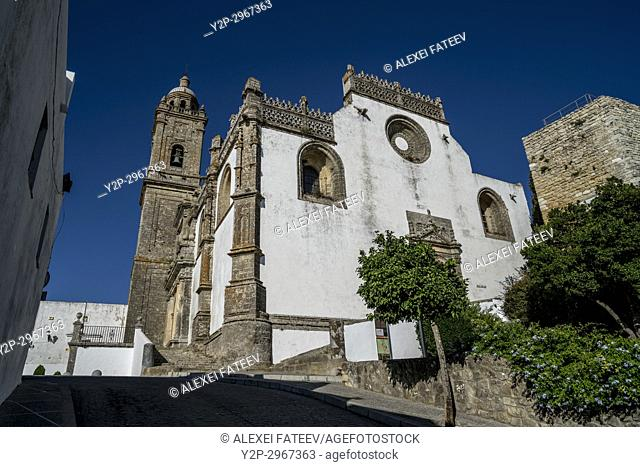 Church of Saint Mary the Crowned in Medina-Sidonia, Andalusia, Spain