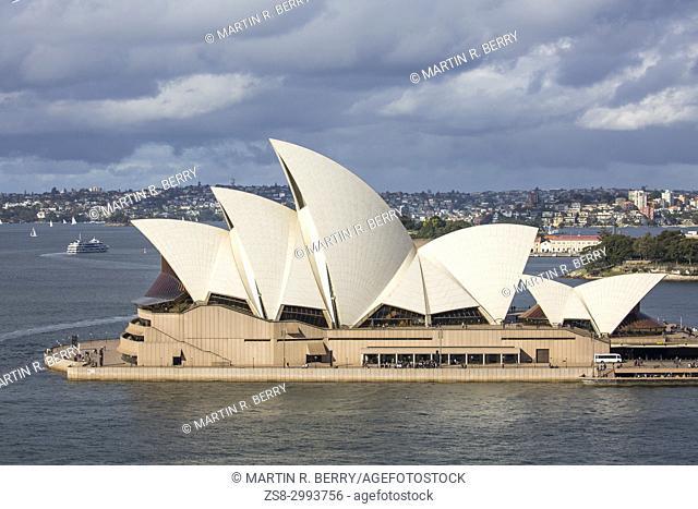 Sydney Opera house at Bennelong Point,Sydney,Australia